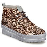 Schuhe Damen Sneaker High Ylati BAIA F Leopard