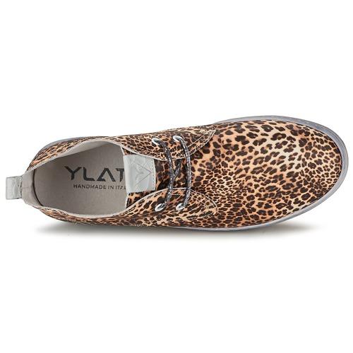 Ylati BAIA F Leopard  Schuhe Sneaker High Damen 107,40