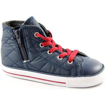 Schuhe Kinder Babyschuhe Converse 750681C Nacht na ct seitliche Reißverschluss baby shoes all sta Blu