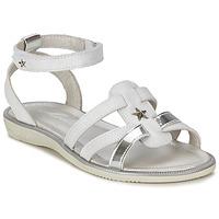Schuhe Mädchen Sandalen / Sandaletten Mod'8 HOPAL Weiss