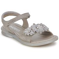 Schuhe Mädchen Sandalen / Sandaletten Mod'8 JUKA Silbern