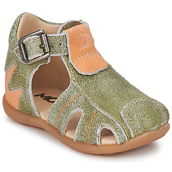 Schuhe Jungen Sandalen / Sandaletten Mod'8 ALUCINE Grün / Orange