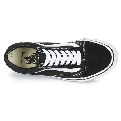 Vans OLD SKOOL Schwarz / Weiss  Schuhe Sneaker Low  74,99