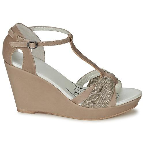One Step CEANE Maulwurf / Vergoldet / Maulwurf  Schuhe Sandalen / Sandaletten Damen 95,20