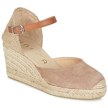 Schuhe Damen Sandalen / Sandaletten Unisa CACERES Beige