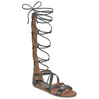 Schuhe Damen Sandalen / Sandaletten Unisa ANDA Schwarz