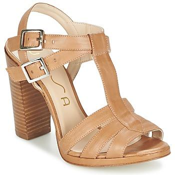 Schuhe Damen Sandalen / Sandaletten Unisa YUM Beige