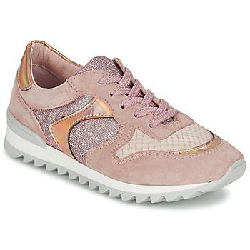 Schuhe Damen Sneaker Low Unisa DALTON Rose