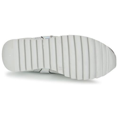 Unisa DALTON Silbern / Weiss  Schuhe Sneaker Low Damen 75,99