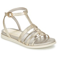 Schuhe Damen Sandalen / Sandaletten Unisa PY Silbern