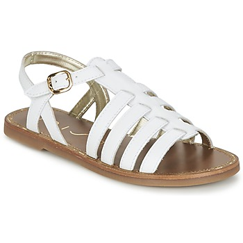 Schuhe Damen Sandalen / Sandaletten Unisa YOLETA Weiss
