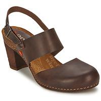 Schuhe Damen Sandalen / Sandaletten Art IMEET Braun