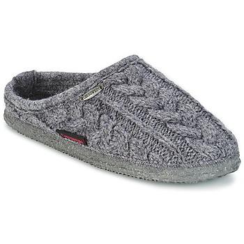 Schuhe Herren Hausschuhe Giesswein NEUDAU Anthrazit