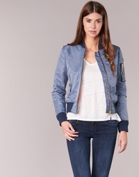 Kleidung Damen Jacken Schott BOMBER BY SCHOTT Grau