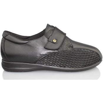 Schuhe Damen Slipper Calzamedi Sonderbreite SCHWARZ