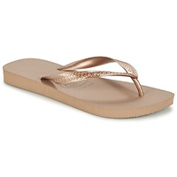 Schuhe Damen Zehensandalen Havaianas TOP METALLIC Rose / Gold