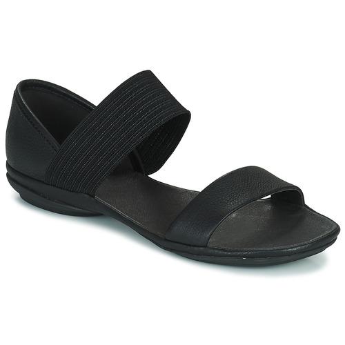 Schuhe Damen Sandalen / Sandaletten Camper RIGHT NINA Schwarz