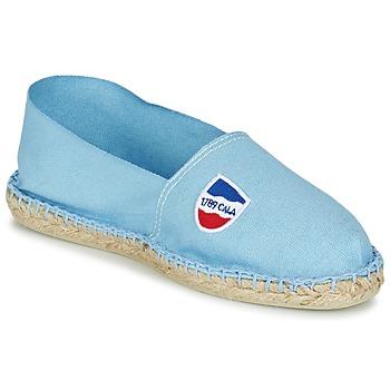 Stoffpantoletten / Espandrillos 1789 Cala CLASSIQUE Blau 350x350
