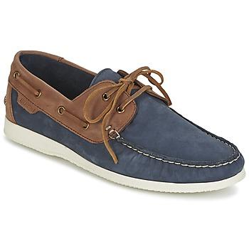 Schuhe Herren Bootsschuhe Ben Sherman OAUK BOAT SHOE Marine / Braun