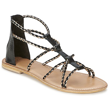 Schuhe Damen Sandalen / Sandaletten Eden MAYRA Schwarz