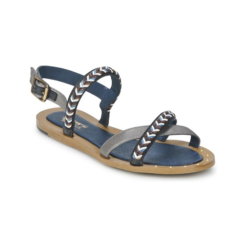 Schmoove MEMORY LINK Silbern / Marine  Schuhe Sandalen / Sandaletten Damen 104,30