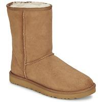 Schuhe Damen Boots UGG CLASSIC SHORT Chestnut