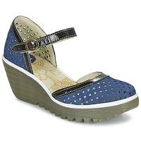Schuhe Damen Pumps Fly London YUDE646FLY Blau
