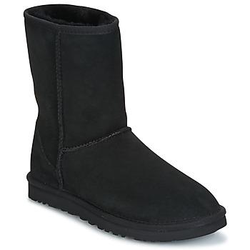 Schuhe Damen Boots UGG CLASSIC SHORT Schwarz
