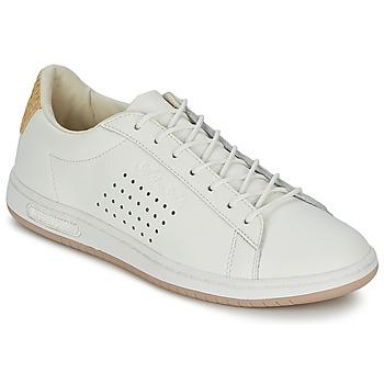 Schuhe Sneaker Low Le Coq Sportif ARTHUR ASHE RAFFIA Creme