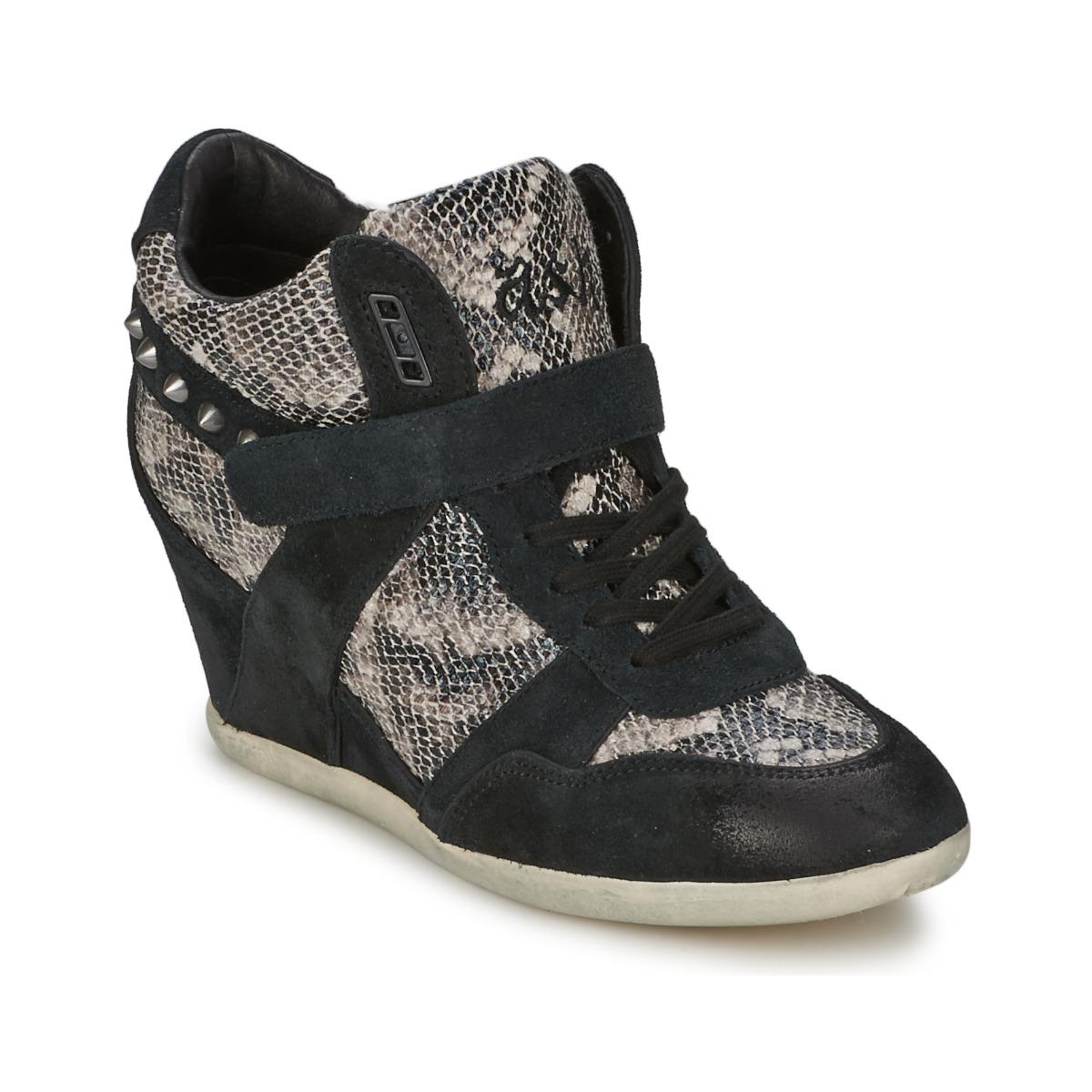 Ash BISOU Schwarz - Kostenloser Versand bei Spartoode ! - Schuhe Sneaker High Damen 99,50 €