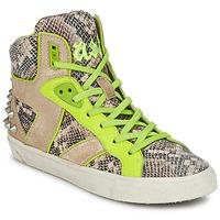 Schuhe Damen Sneaker High Ash SONIC Gelb