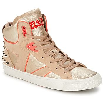 Schuhe Damen Sneaker High Ash SPIRIT Beige / Rose