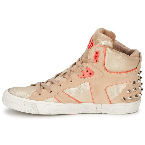 Ash SPIRIT Beige / Rose  Schuhe Sneaker High Damen 159,20