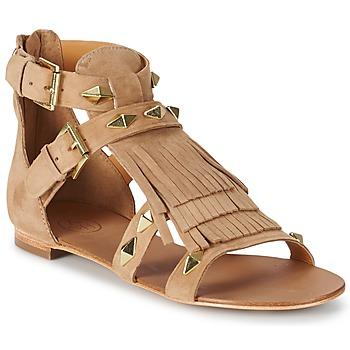 Schuhe Damen Sandalen / Sandaletten Ash MASCARA Beige
