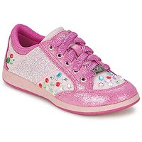 Schuhe Mädchen Sneaker Low Lelli Kelly GLITTER-ROSE-CALIFORNIA Rose