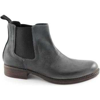 Schuhe Herren Boots J.p. David 8055-1 anthrazit Herren Schuhe Stiefel Stiefel beatles Grigio