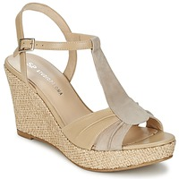 Schuhe Damen Sandalen / Sandaletten Studio Paloma LUCREZIA Beige