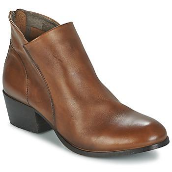 Schuhe Damen Low Boots Hudson  Braun
