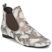 Schuhe Damen Boots Think ASSAM Beige