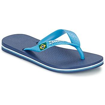 Schuhe Kinder Zehensandalen Ipanema CLASSICA BRASIL II Blau