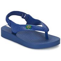 Schuhe Kinder Sandalen / Sandaletten Ipanema CLASSICA BRASIL BABY Blau