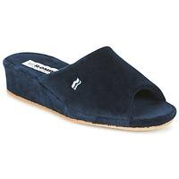 Schuhe Damen Hausschuhe Romika Paris Marine