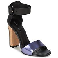 Schuhe Damen Sandalen / Sandaletten Miista LILY Schwarz / Lavendel