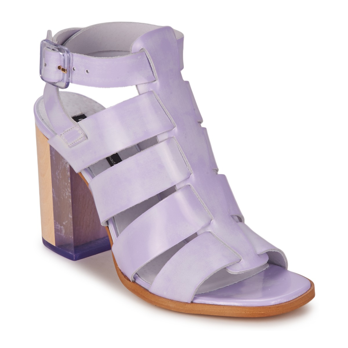 on sale 94166 556d3 ... Miista ISABELLA Lavendel - Kostenloser Versand bei Spartoode ! - Schuhe  Sandalen   Sandaletten Damen 132