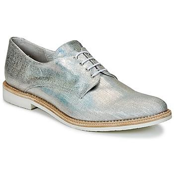 Schuhe Damen Derby-Schuhe Miista ZOE Silbern / Scintillant