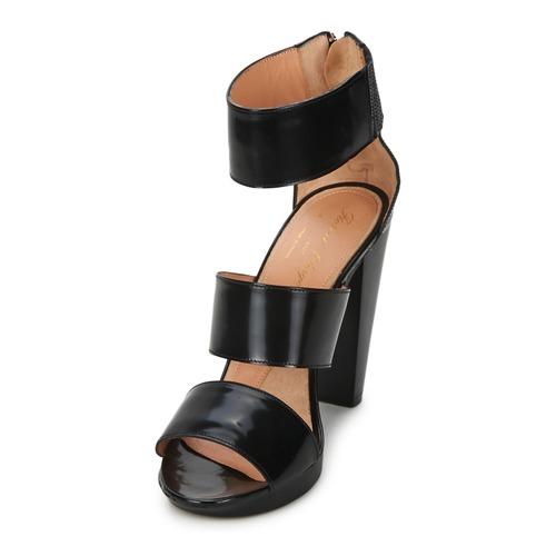 Robert Clergerie XIMA Schwarz  Schuhe Sandalen / Sandaletten Damen 335,20