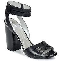 Schuhe Damen Sandalen / Sandaletten Geox NOLINA Schwarz