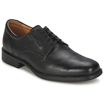 Schuhe Herren Derby-Schuhe Geox FEDERICO Schwarz