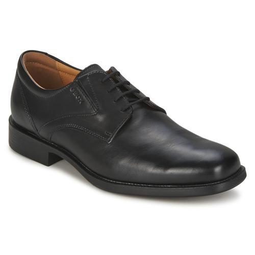 Geox FEDERICO Schwarz  Schuhe Derby-Schuhe Herren 87,20