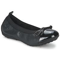 Schuhe Mädchen Ballerinas Geox PIUMA BALLERINE Schwarz